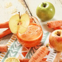 APPLE CARROT LEMON GINGER JUICE