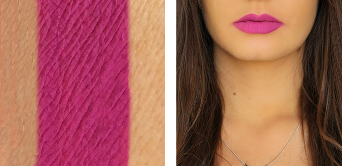 Colourpop Ultra Matte Lip in Drive In Photos, Review, Swatches // JustineCelina.com