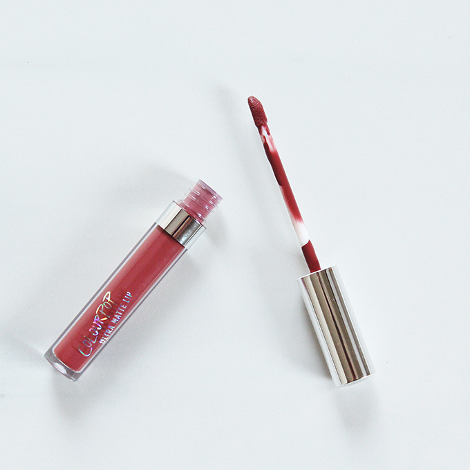 Colourpop Ultra Matte Lip in Tulle Photos, Review, Swatches // JustineCelina.com