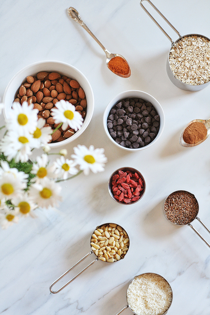 Toasted Trail Mix // JustineCelina.com