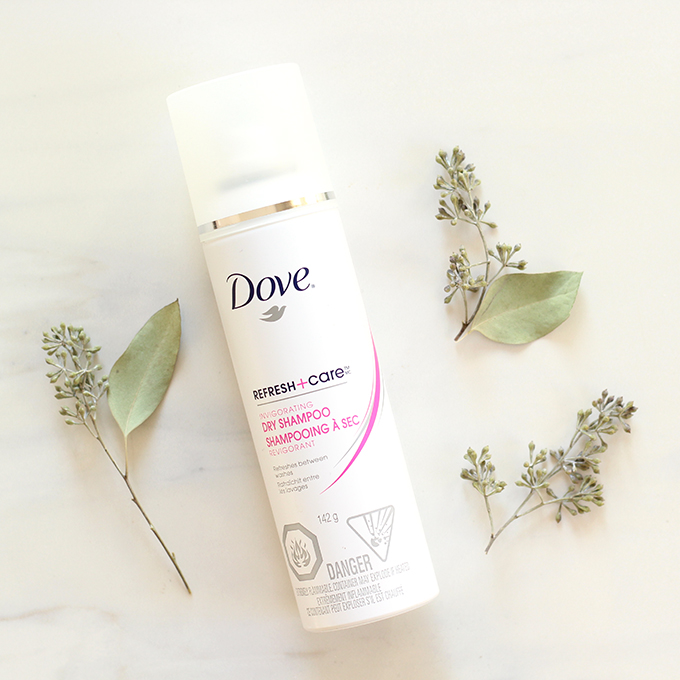 Best in Beauty | Dove Refresh + Care Invigorating Dry Shampoo Photos, Review | October 2015 // JustineCelina.com