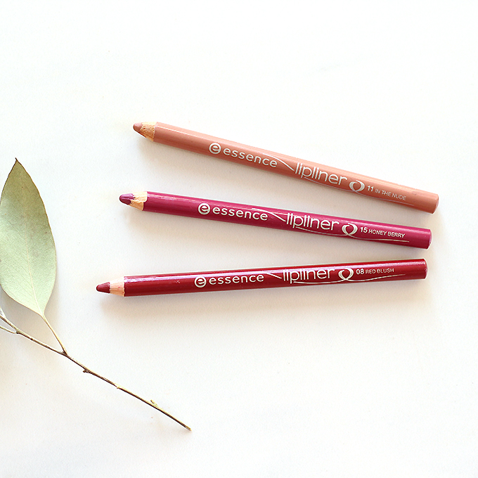 Best in Beauty | Essence Lip Liners Photos, Review | October 2015 // JustineCelina.com