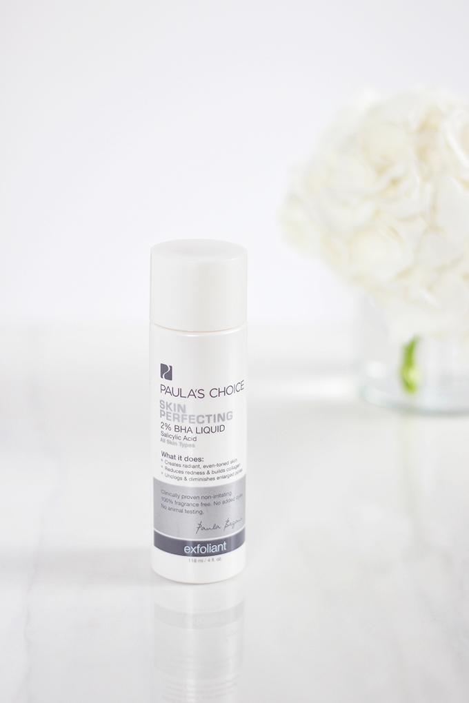 Paula's Choice Skin Perfecting 2% BHA Liquid Exfoliant Review | 5 Powerhouse Skincare Ingredients // JustineCelina.com