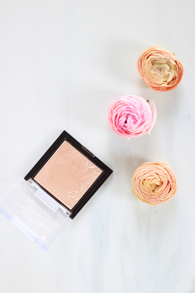 Wet n Wild MegaGlo™ Highlighting Powder in Precious Petals Photos, Review, Swatches // JustineCelina.com