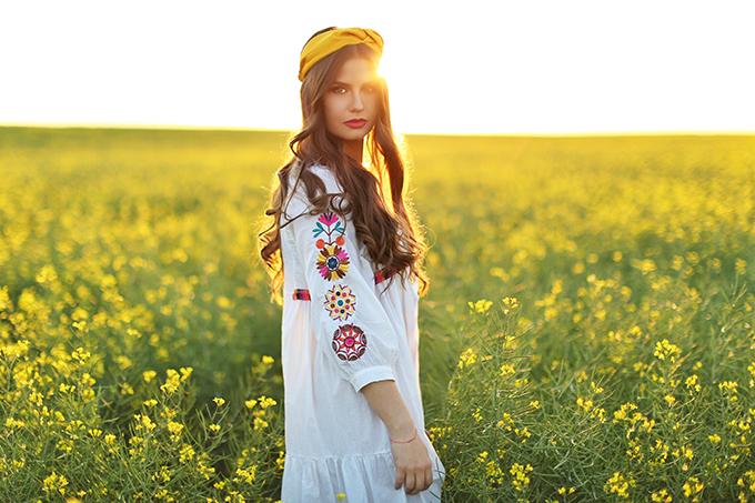 Flowerchild | Canola fields in rural Alberta, Canada // JustineCelina.com