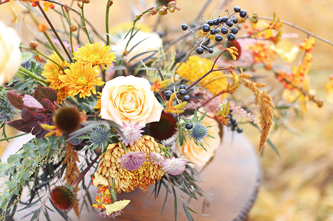 The Most Beautiful Autumn Arrangement Ever Justinecelina