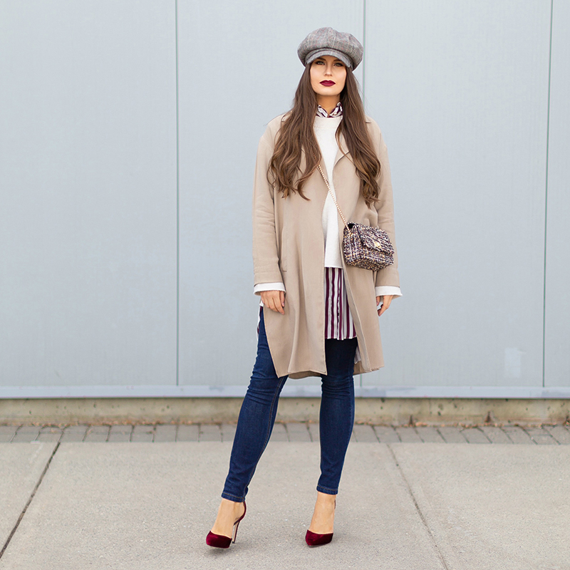 How to Style Transitional Layers | Winter to Spring 2018 Transitional Style Ideas for Cooler Climates | Calgary, Alberta Fashion Blogger // JustineCelina.com