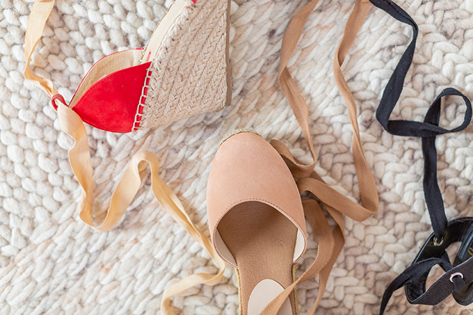 Transitional Shoe Guide | Summer to Autumn 2018 // The Best Shoes to Transition from Summer into Fall | Top Shoe Trends 2018 | Espadrilles | Best Castañer Dupes for under $100 // JustineCelina.com