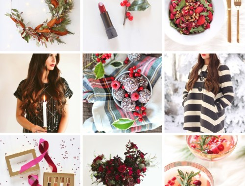 Ultimate Holiday Inspiration Roundup | 20 creative, fun and easy fashion, beauty, fragrance, entertaining, food, cocktail, decor and DIY ideas to inspire your 2018 holiday season // JustineCelina.com