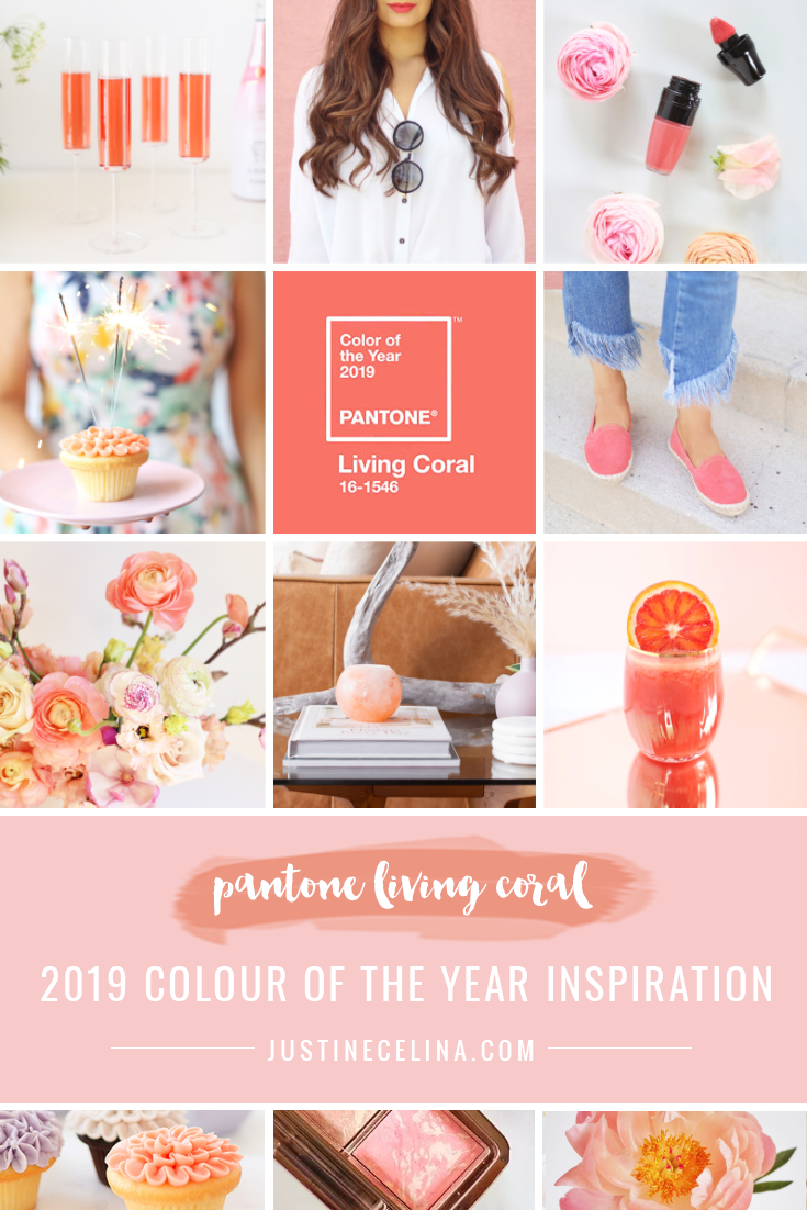 Pantone Colour of the Year 2019 Living Coral Inspiration | How to Incorporate Pantone's Color of the Year 2019 Living Coral in Your Home, Beauty Routine, Personal Style, Wardrobe, Flowers, Decor, Food, Drink and Entertaining this year | Living Coral Interior Design Trends | Pantone Living Coral Inspiration | How to Use Pantone Color of the Year 2019 Living Coral // JustineCelina.com
