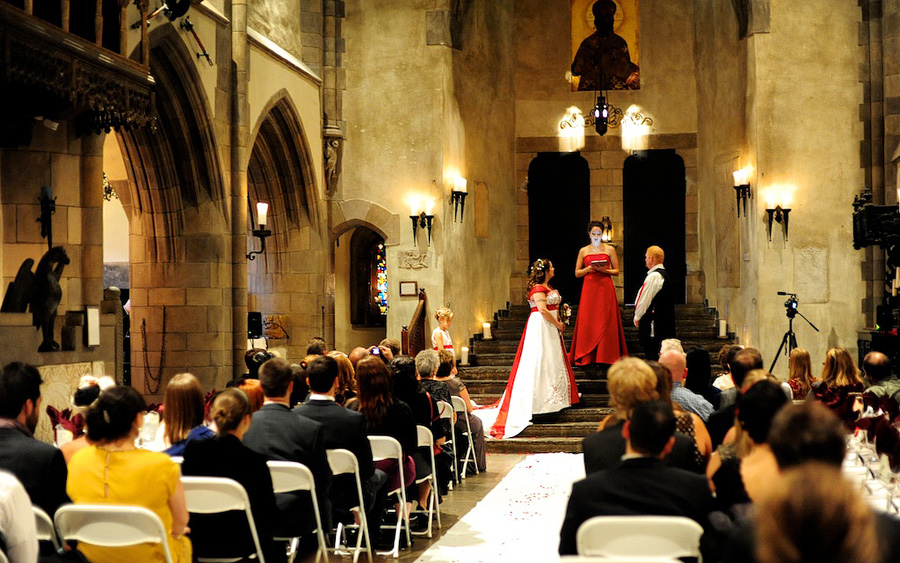 Rebecca  Quinn  Married 101312  Hammond Castle