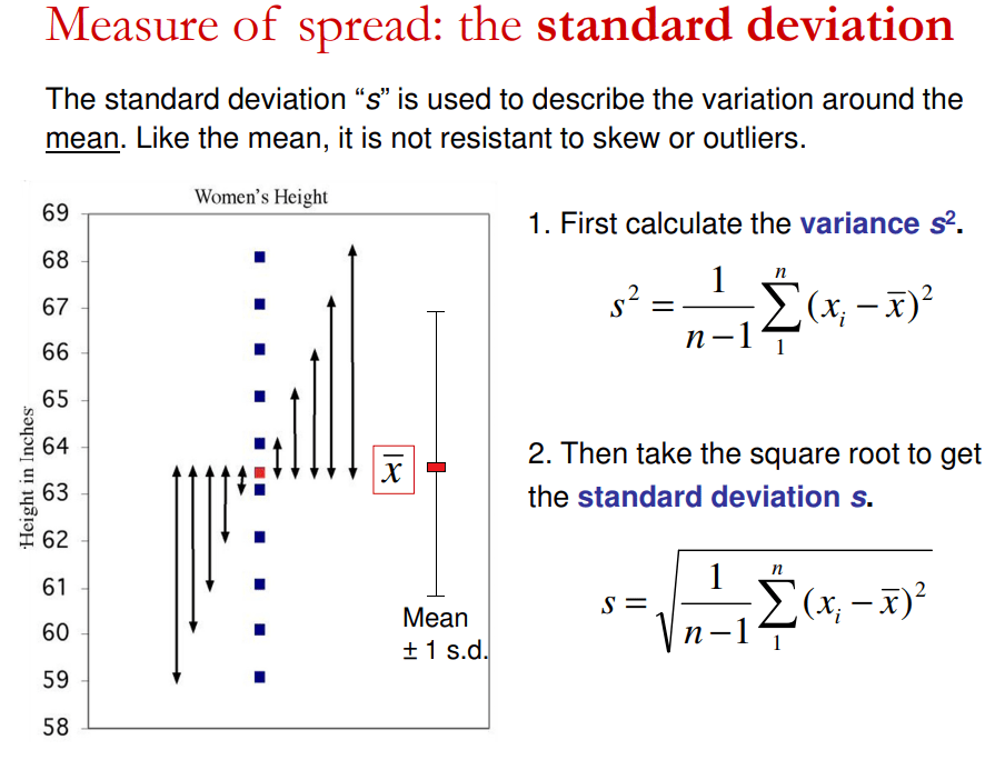 Lesson 3: Measuring Variance and Standard Deviation   Geographical Perspectives