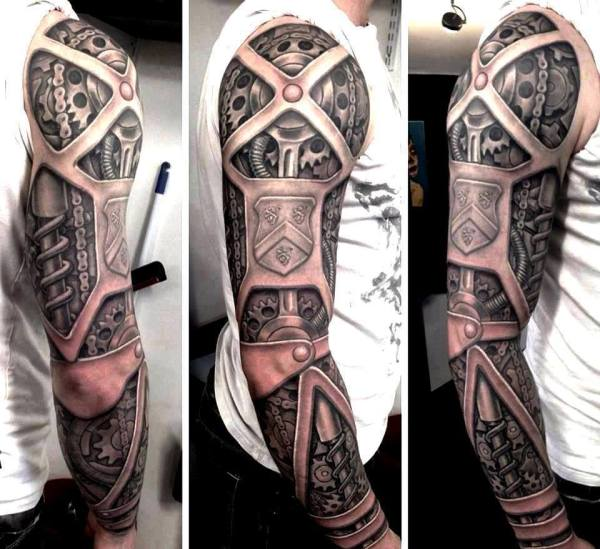 awesome steampunk tattoos