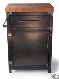 Kitchen Prep Stand / Boos Butcher Block Top  Real ...
