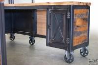 Custom Wood Desk Design - Hostgarcia