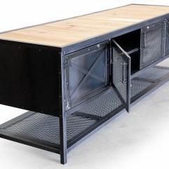 Industrial Kitchen Island Kids Table Custom Reclaimed Wood And Steel
