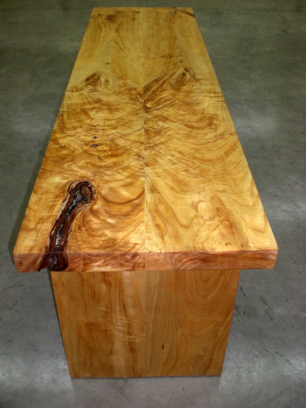 White And Wood Coffee Table
