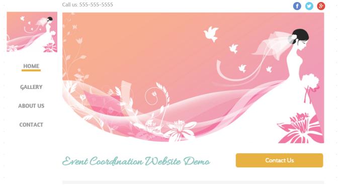 Event Coordination Website Demo
