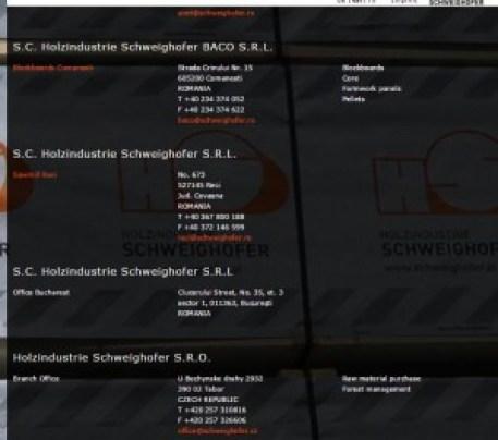 Grupul austriac Holzindustrie Schweighofer și tentaculele sale.