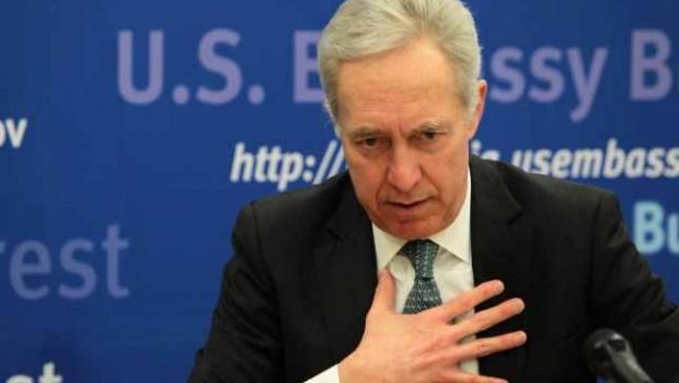 """Ambasadorul SUA, Hans Klemm: """"Cei care se opun liberalismului şi îmbrăţişează naţionalismul economic caută din nou să îi atace […]"""