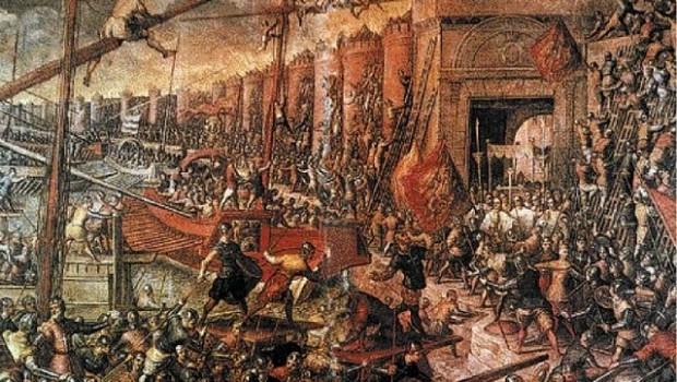"""""""Vestul Salbatic"""" al Europei 12 aprilie 1204: Căderea Constantinopolului ortodox în mâinile Cruciaților Occidentali La 12 aprilie 1204, armate […]"""