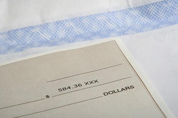 cheque bancario caducado