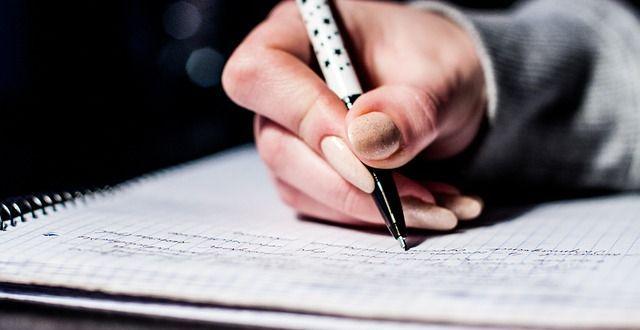 expresión manuscrita