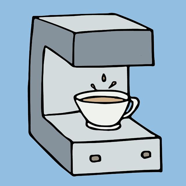 diligencia maquina de cafe