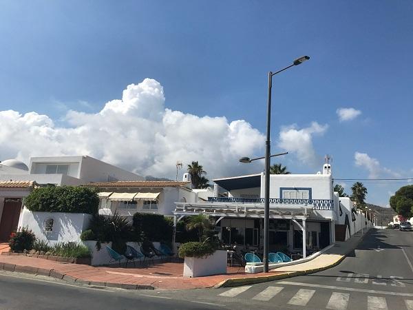 Mojácar playa, restaurante Gastro Malabar