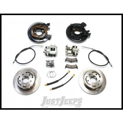 Just Jeeps Buy TeraFlex Rear Disc Brake Kit W/ Emergency