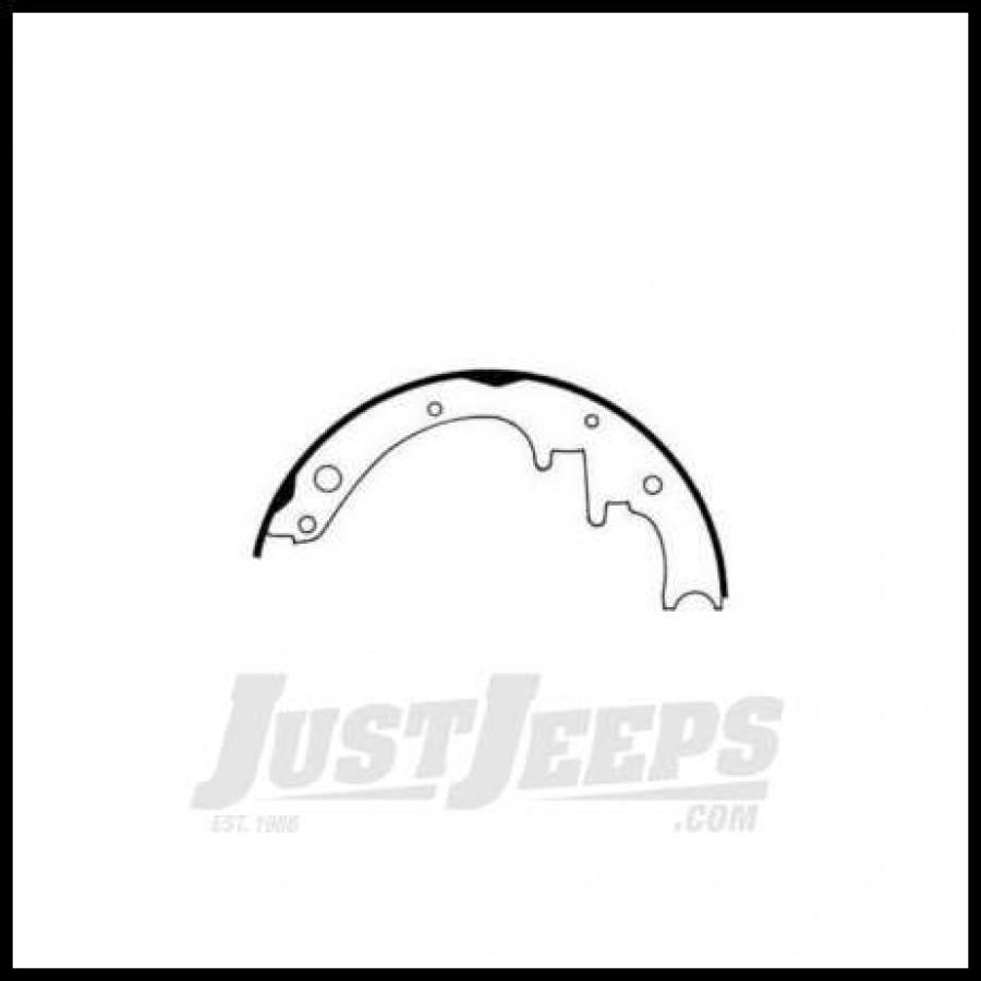 Just Jeeps Buy Omix-Ada Brake Shoe Set Rear For 1978-89