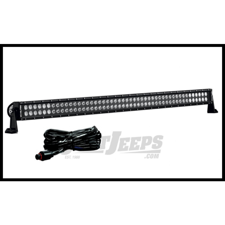 Just Jeeps Buy KC HiLiTES C50 LED Light Bar With Harness