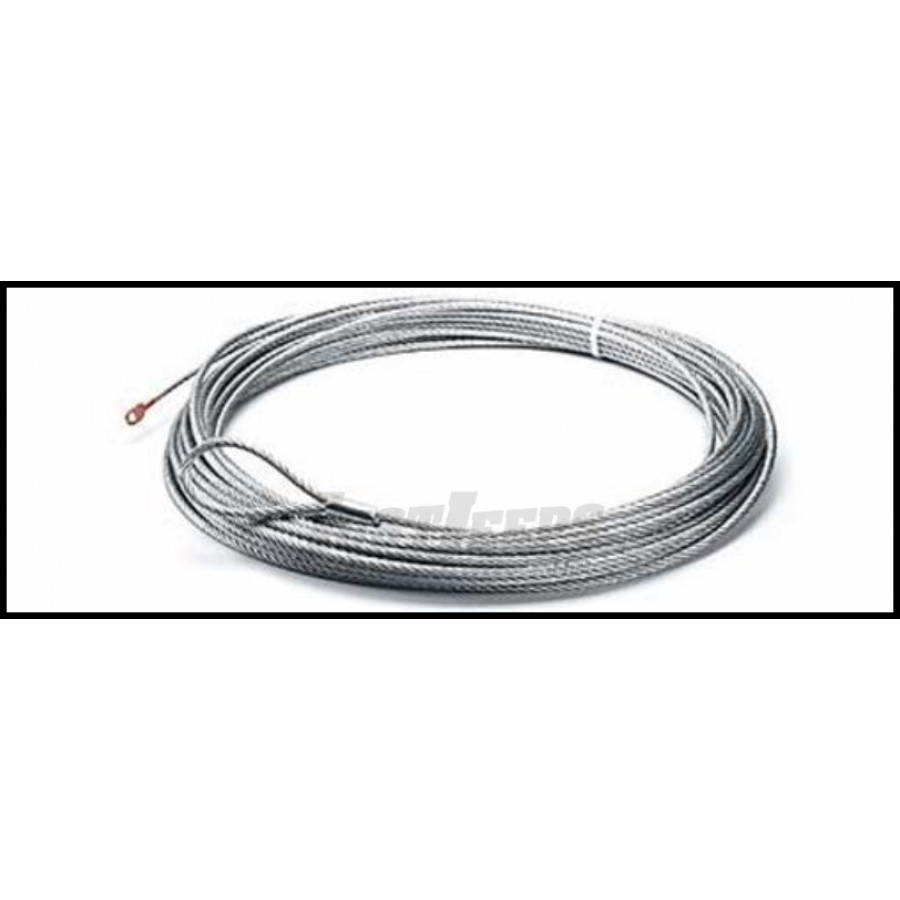 Just Jeeps Buy Warn Works Replacement Wire Rope 43ft. X 7