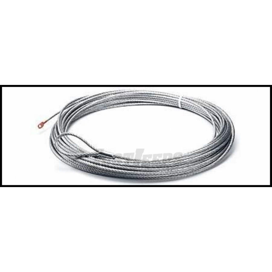 Just Jeeps Buy Warn Works Replacement Wire Rope 55ft. X 7