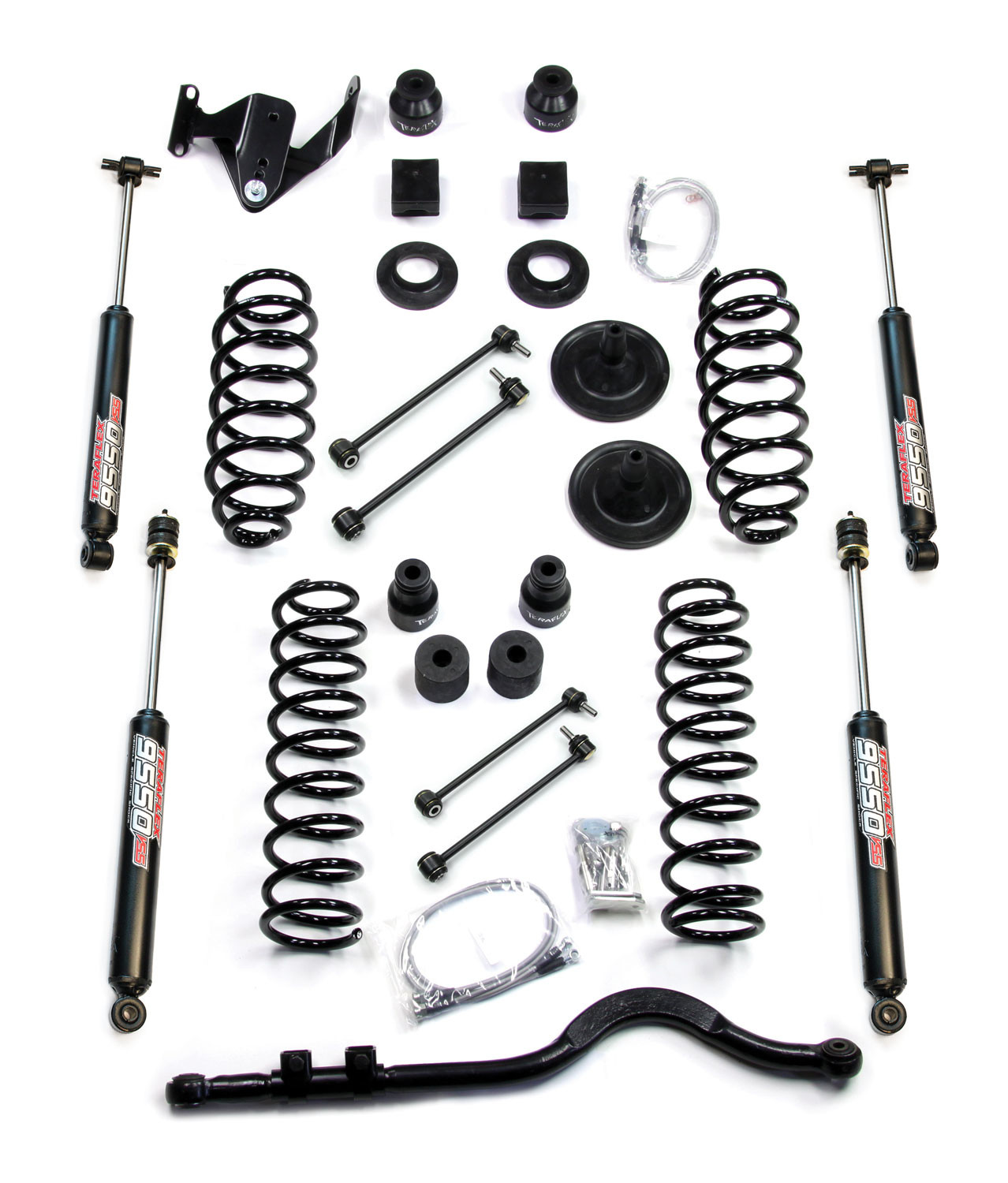 Just Jeeps Teraflex 4 Lift Kit Basic With Shocks For