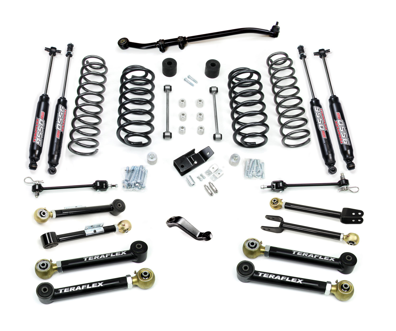 Just Jeeps Teraflex 4 Premium Suspension System With