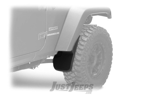 small resolution of just jeeps husky liners custom molded front mud flaps for 2007 18 jeep wrangler jk 2 door unlimited 4 door models floor mats front area liner shop