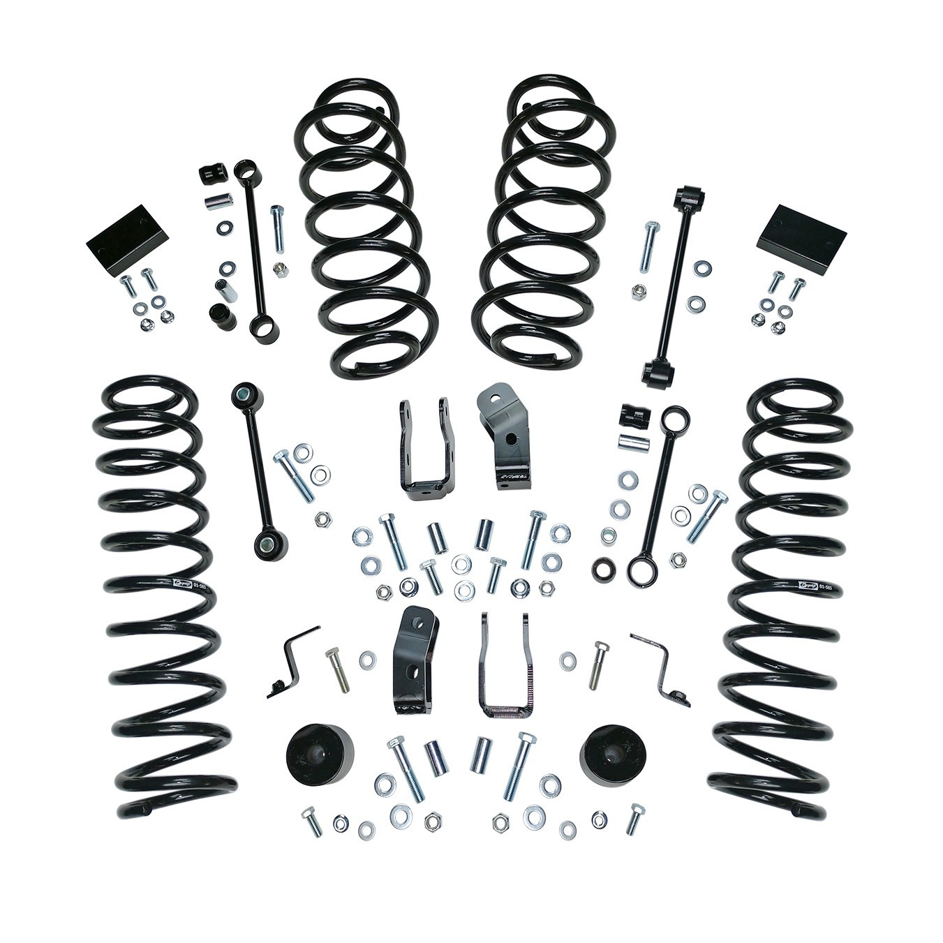 Just Jeeps Alloy Usa 2 5 Suspension Lift Kit Without