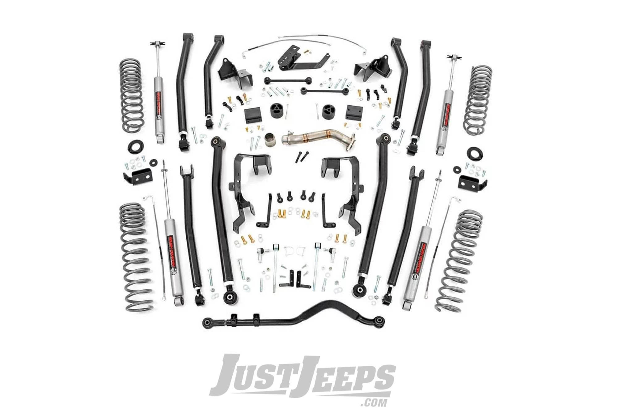 Just Jeeps Rough Country 4 Long Arm Suspension Lift Kit