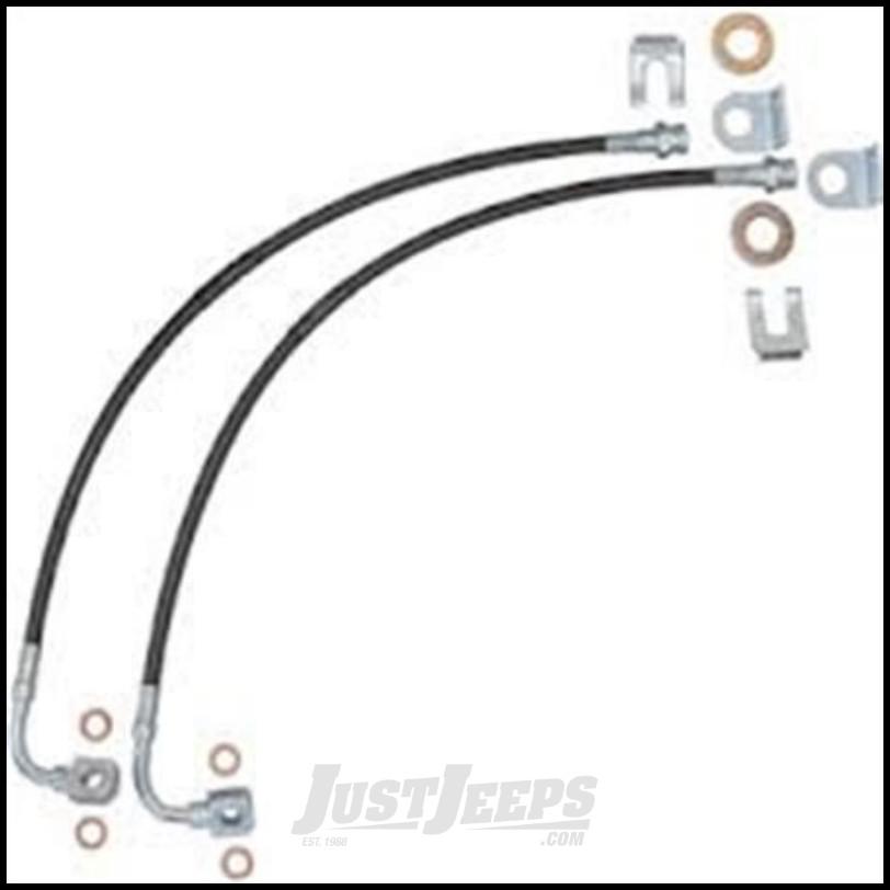 Just Jeeps Pro Comp Brake Line Kit For 2007-18 Jeep