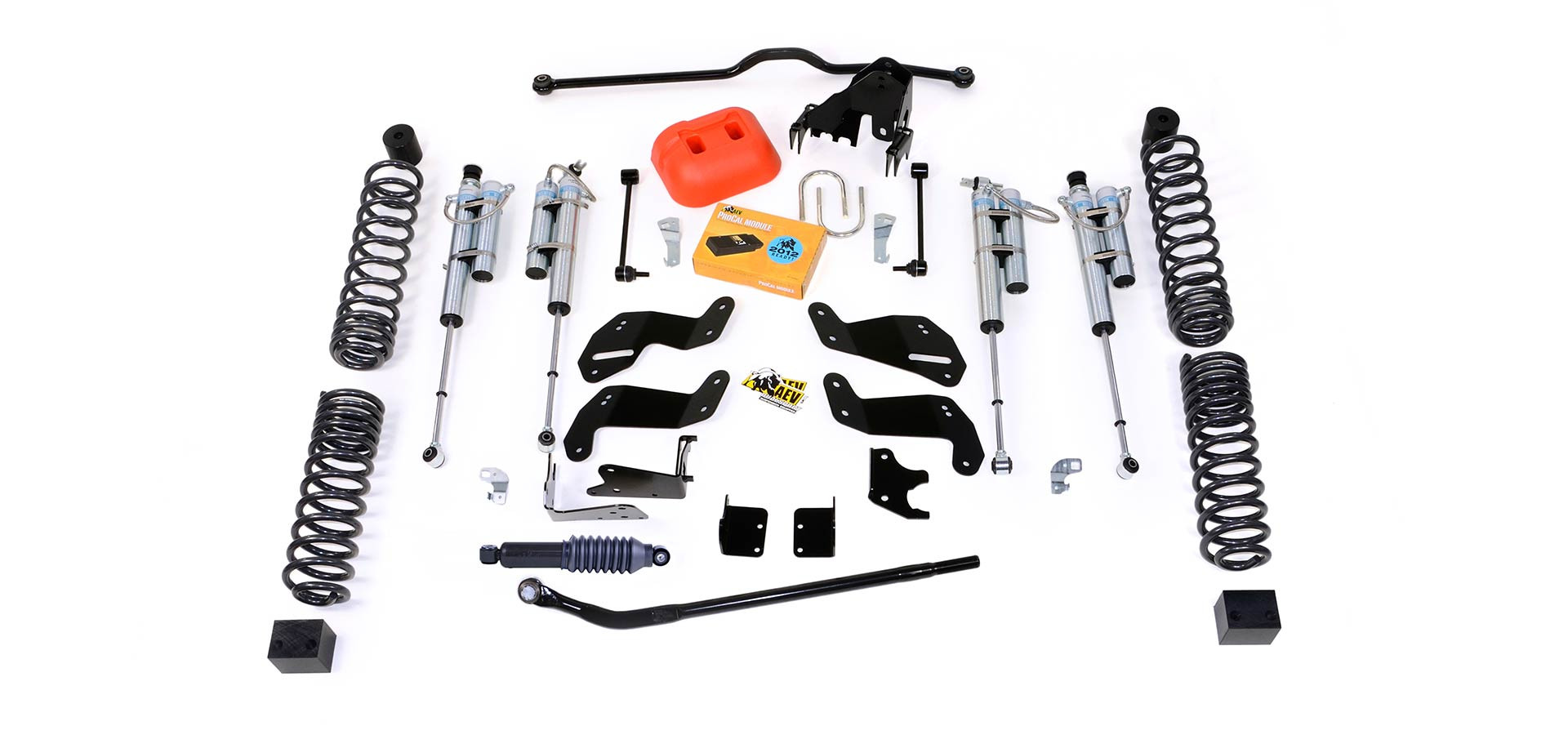Just Jeeps Aev 4 5 Dualsport Rs Suspension System With