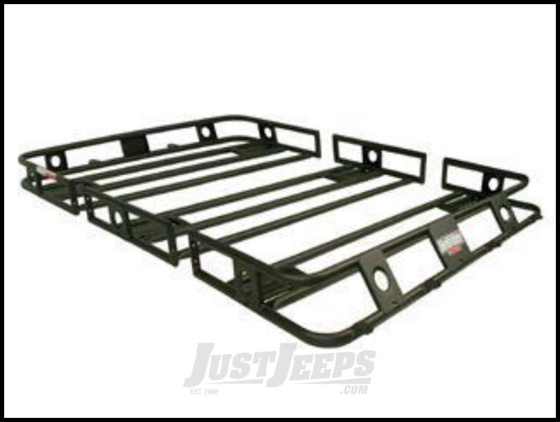 Just Jeeps SmittyBilt Defender Series Roof Rack Basket 4