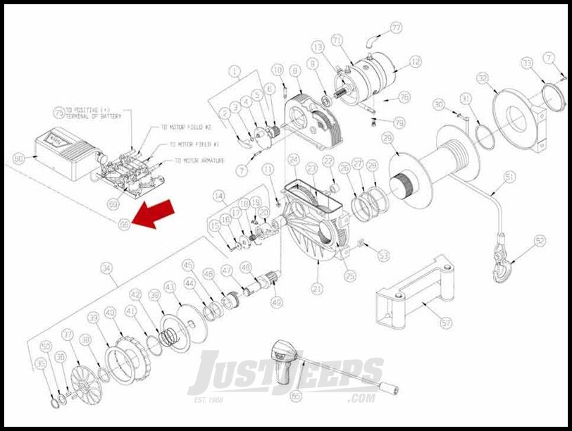 Just Jeeps Buy Warn Replacement 12V Solenoid Control For
