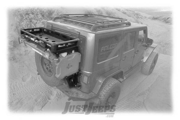 teraflex alta cargo rack for 2007 18 jeep wrangler jk 2 door unlimited 4 door models 4830000