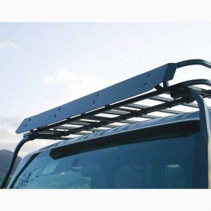 garvin wilderness wind deflector roof rack 54 w jeep expedition rack for 2018 jeep wrangler jl 2 door unlimited 4 door models 29964