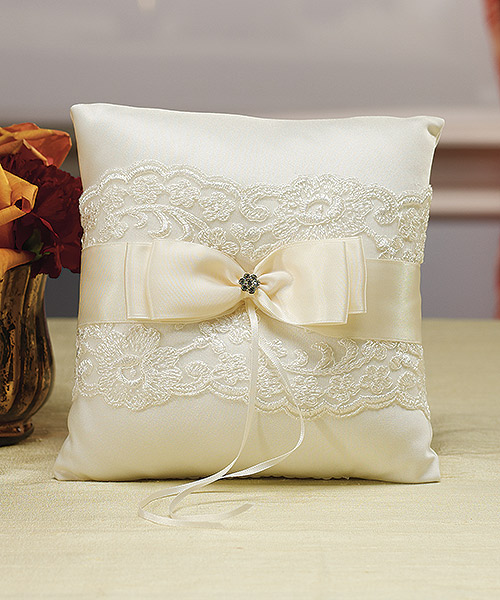 French Lace Ring Pillow Wedding Ring Pillow