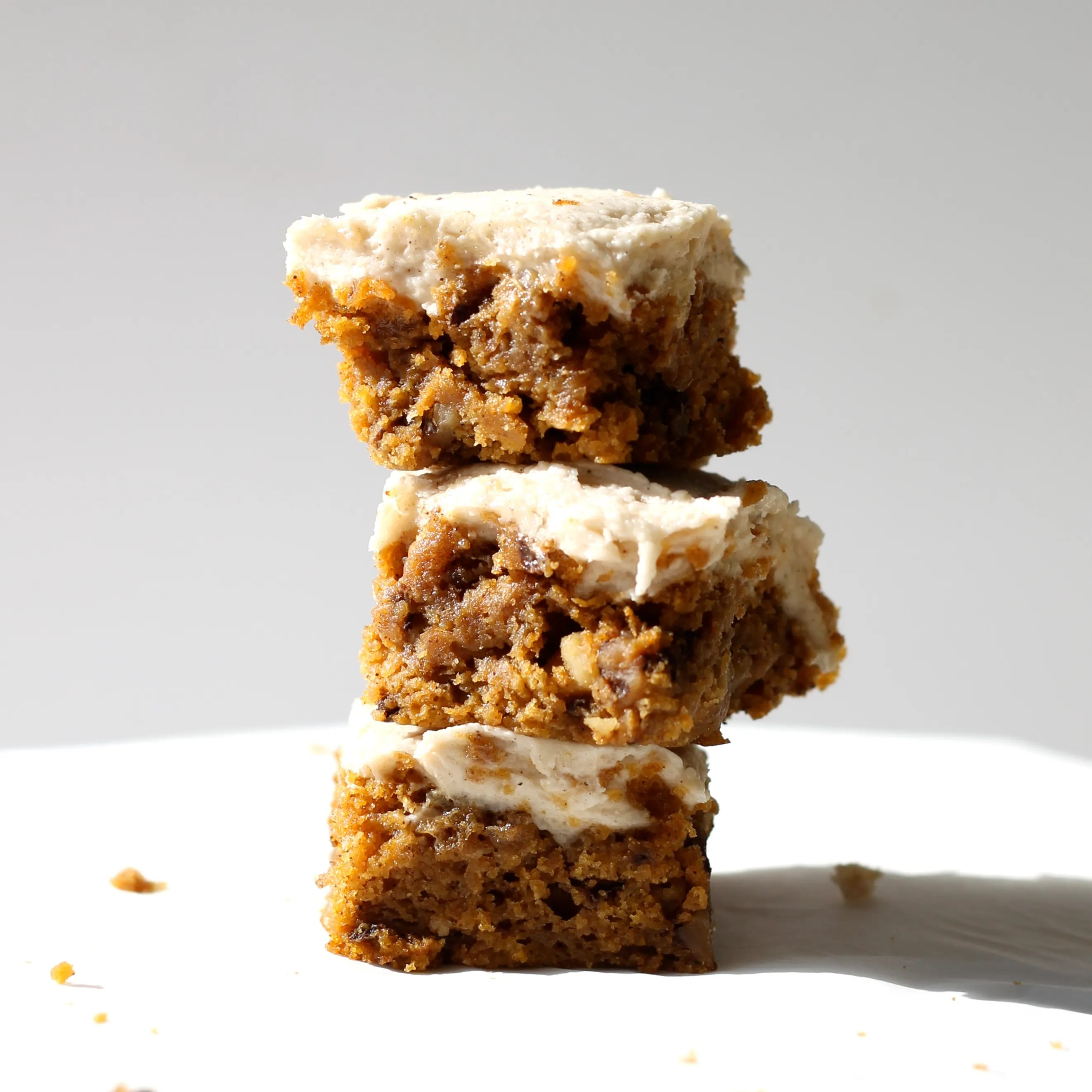 brown butter pumpkin bars