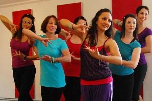 Teaching Bollywood Dance