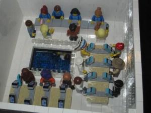 LEGO Apple Store second floor