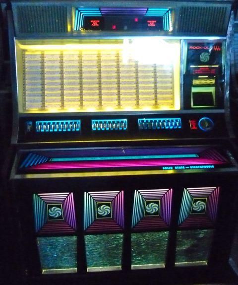Just Jukin  Jukeboxes  1970 RockOla 444
